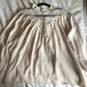 Worn once detailed blouse